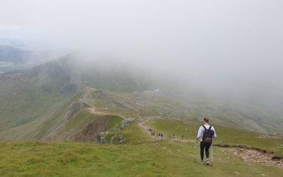 Climbed Snowdon!